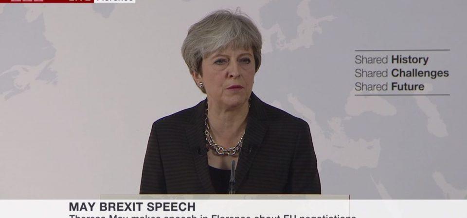 """Brexit, May: """"Serve un accordo creativo sul commercio"""""""