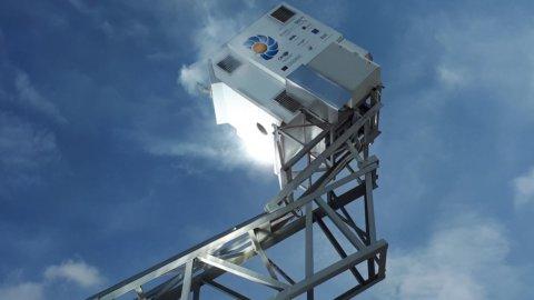 Enea presenta il primo disco solare al mondo
