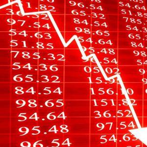 Borse in profondo rosso: giù le banche e Fca
